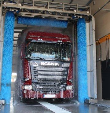 Profesjonalna myjnia samochodowa TIR w Siewierzu
